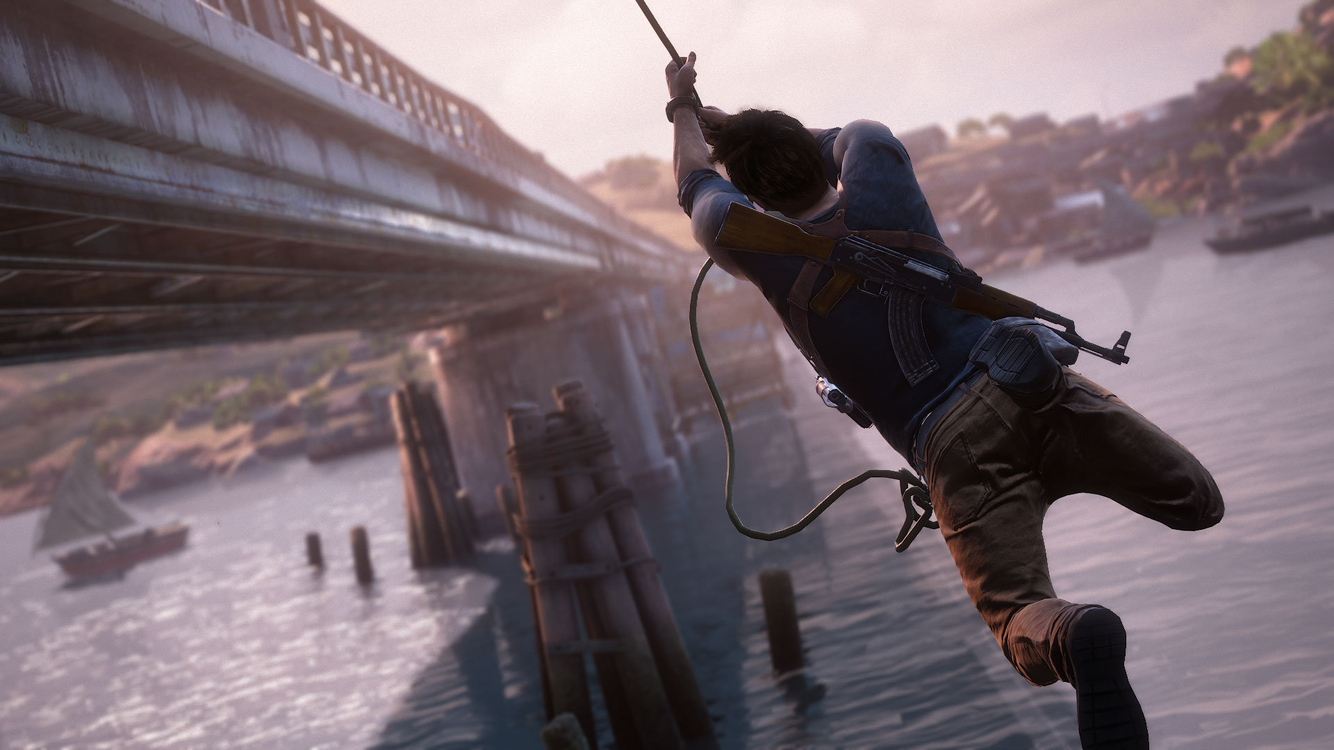 Naughty Dog Walk A Tightrope In Uncharted 4 A Thief S End Ginx