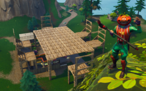 Fortnite Playground Table Chairs