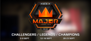 FACEIT London Major dates